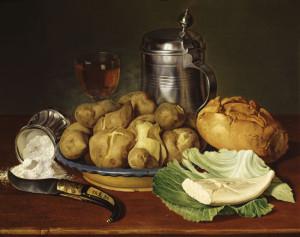 stilleben natura norta di patate
